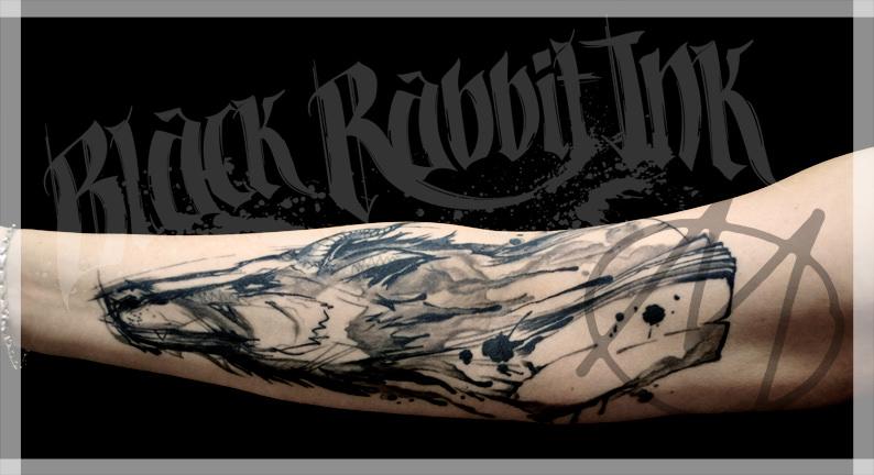 Sketchy Tattoos By Kali Tattoo Studio Munchen Black