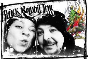 Weihnachtsgruss, Weihnachten, München, Christkindlmarkt, Black Rabbit Ink, Tattoo, Tattoos