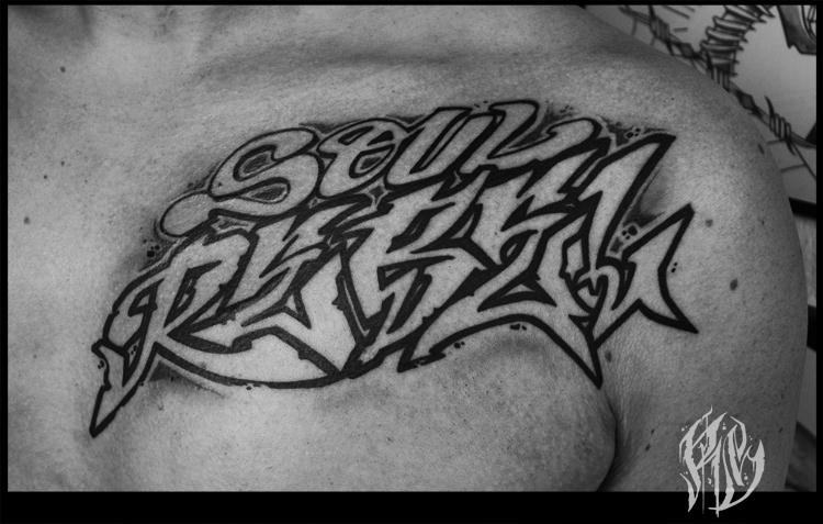 lettering, soul Rebel, Bob Marley, Tattoo, Graffititattoo, Font, Tattoos, Munich,