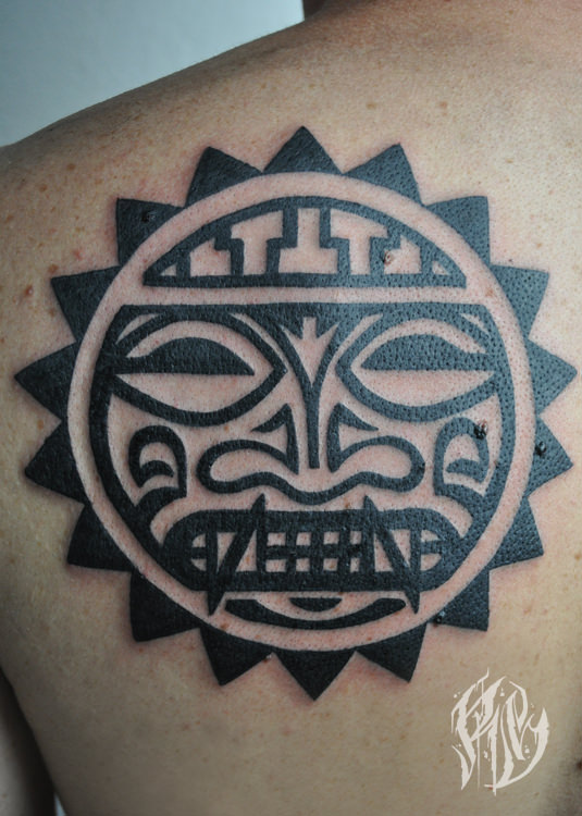 Inka, Tattoo, Blackwork, Shameyabc, Ralf Spitzer, Black Rabbit Ink, Tattoostudio München