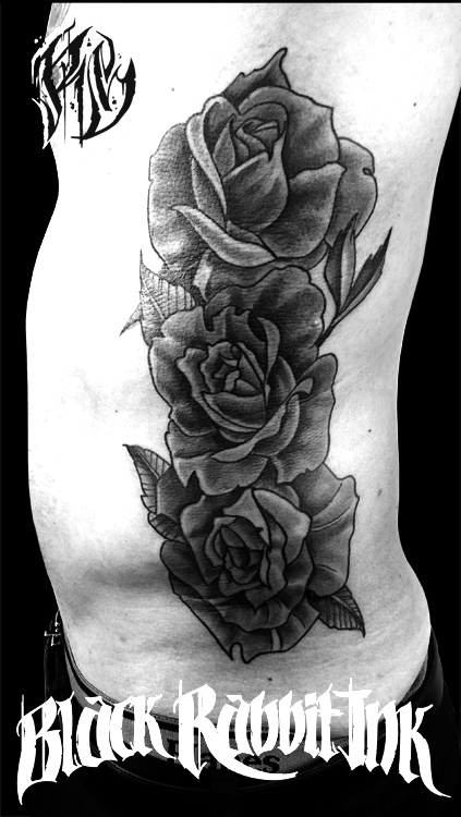 Rosentattoo, Rose, BlacknGrey, Tattoo, Inked, Ink, Tattoostudio, Tattooworld, Munich, Ralf Spitzer, Shameabc, Tattooporn