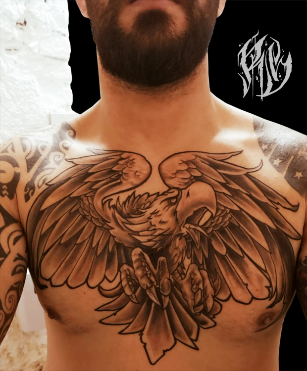 Türkisch, Eagletattoo, Oldschool, Boxing, Tattoo, Tattoostudio, Tattoomagazin, Tätowierer, Tattooart, Ralf Spitzer, Shameyabc
